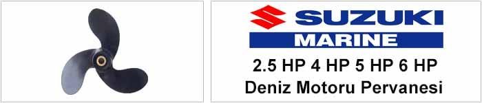 Suzuki 2.5 HP 3.5 HP 5 HP 6 HPDeniz Motoru Pervanesi
